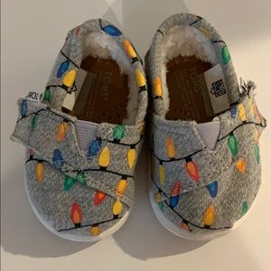 Baby Christmas Toms shoes